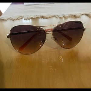 "Liz Claiborne Rose Gold ""Sloane"" Sunglasses"